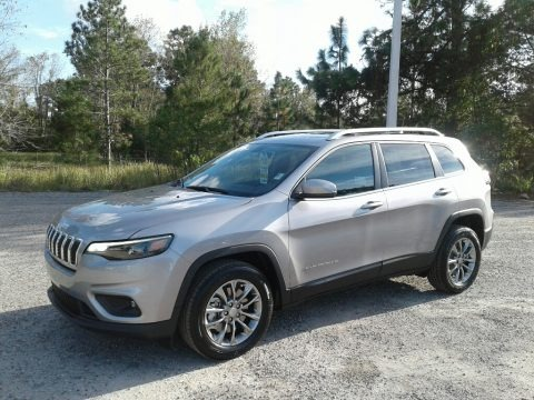 Billet Silver Metallic 2019 Jeep Cherokee Latitude Plus