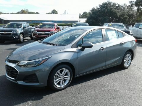 Satin Steel Gray Metallic 2019 Chevrolet Cruze LT