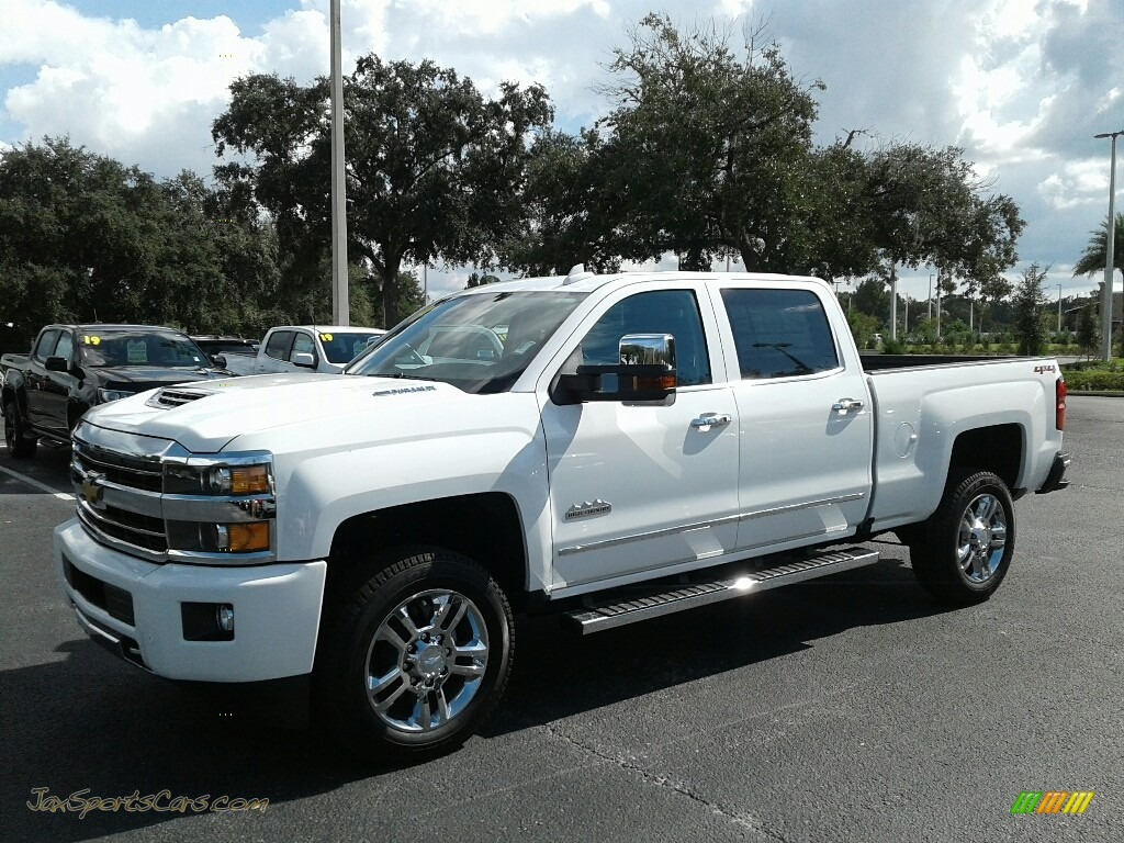 Summit White / High Country Saddle Chevrolet Silverado 2500HD High Country Crew Cab 4WD
