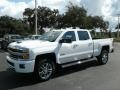 Chevrolet Silverado 2500HD High Country Crew Cab 4WD Summit White photo #1