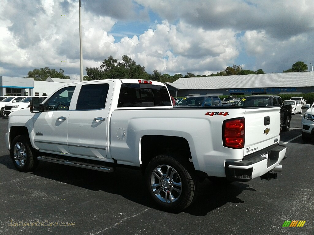 2019 Silverado 2500HD High Country Crew Cab 4WD - Summit White / High Country Saddle photo #3