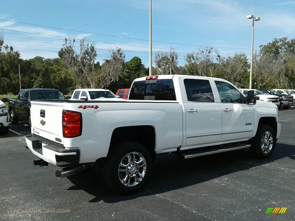 2019 Silverado 2500HD High Country Crew Cab 4WD - Summit White / High Country Saddle photo #5