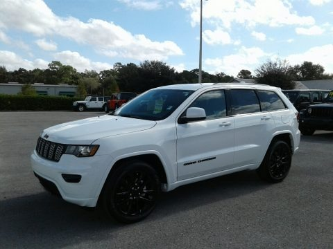 Bright White 2019 Jeep Grand Cherokee Altitude