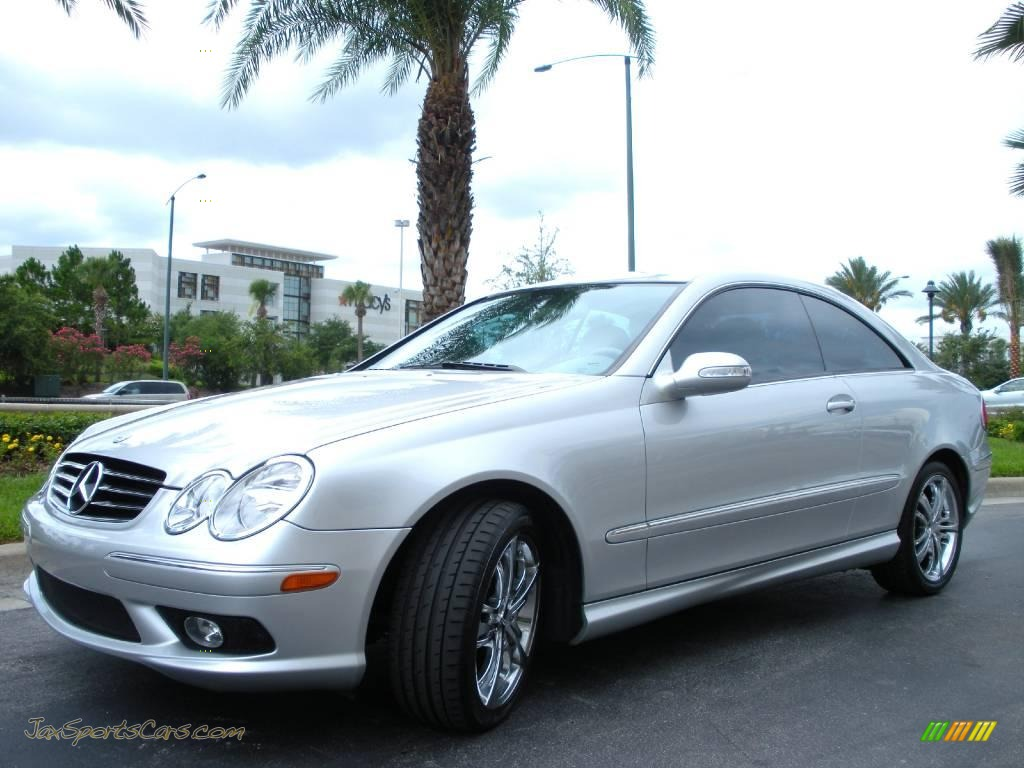2005 mercedes benz clk 500 coupe in brilliant silver for Mercedes benz clk 2005