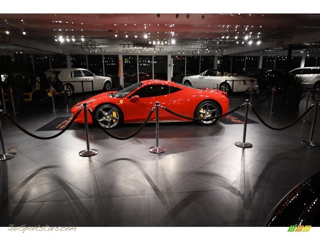 2010 458 Italia - Rosso Corsa (Red) / Nero photo #1