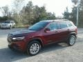 Jeep Cherokee Latitude Velvet Red Pearl photo #1