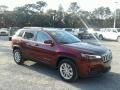 Jeep Cherokee Latitude Velvet Red Pearl photo #7