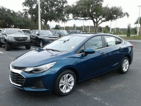 Pacific Blue Metallic 2019 Chevrolet Cruze LT