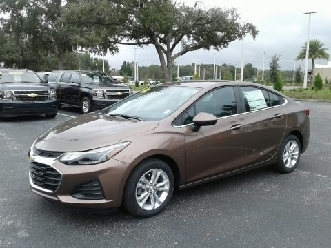 Oakwood Metallic 2019 Chevrolet Cruze LT