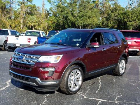 Burgundy Velvet 2019 Ford Explorer Limited