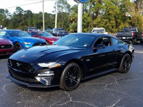 Shadow Black 2019 Ford Mustang GT Fastback