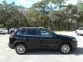 Jeep Cherokee Latitude Diamond Black Crystal Pearl photo #6