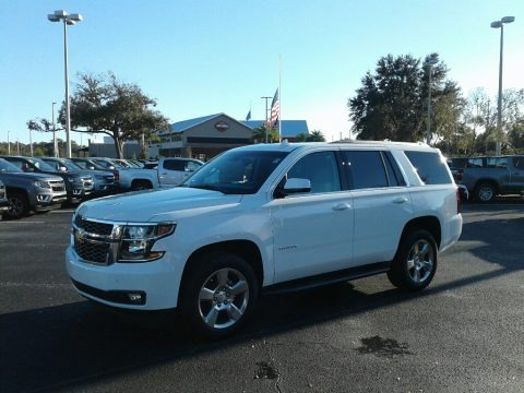 Summit White 2019 Chevrolet Tahoe LT
