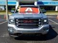 GMC Sierra 1500 SLT Crew Cab 4WD Quicksilver Metallic photo #8