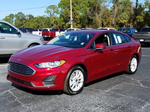 Ruby Red 2019 Ford Fusion SE