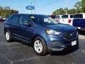 Ford Edge SE Blue Metallic photo #7