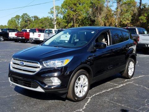 Agate Black 2019 Ford Escape SE