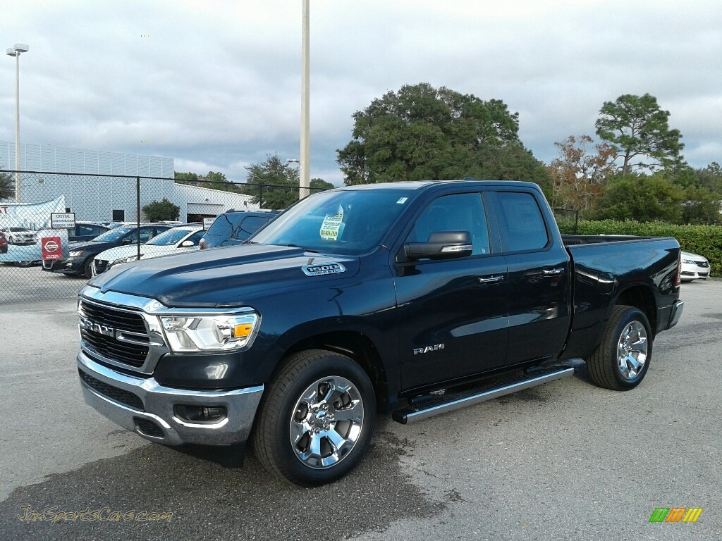 Maximum Steel Metallic / Black Ram 1500 Big Horn Quad Cab
