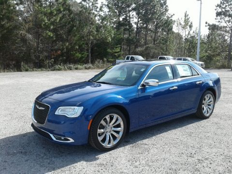 Ocean Blue Metallic 2019 Chrysler 300 Limited