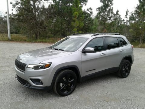 Billet Silver Metallic 2019 Jeep Cherokee Latitude Plus