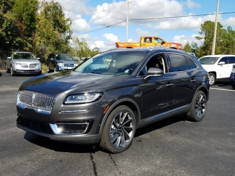 Magnetic Gray 2019 Lincoln Nautilus Reserve
