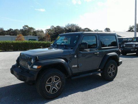 Sting-Gray 2019 Jeep Wrangler Sport 4x4