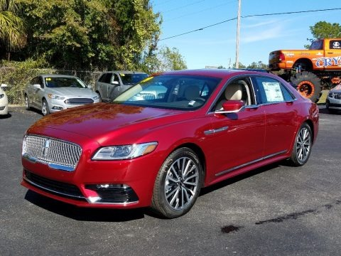 Ruby Red Metallic 2019 Lincoln Continental Select