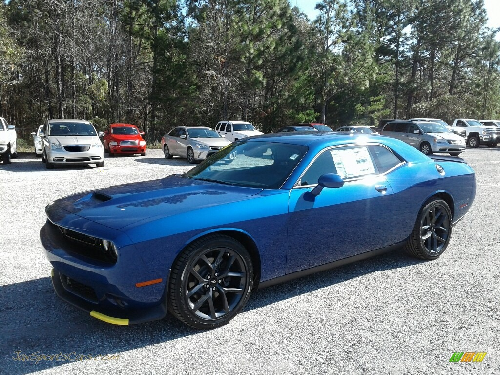 2019 Challenger GT - Indigo Blue / Black photo #1