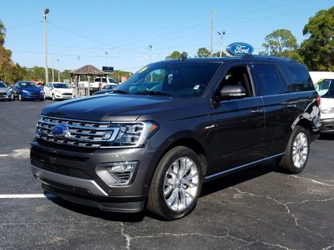 Magnetic Metallic 2019 Ford Expedition Limited