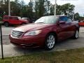 Chrysler 200 Touring Convertible Deep Cherry Red Crystal Pearl Coat photo #1