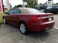 Chrysler 200 Touring Convertible Deep Cherry Red Crystal Pearl Coat photo #3