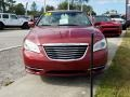 Chrysler 200 Touring Convertible Deep Cherry Red Crystal Pearl Coat photo #8