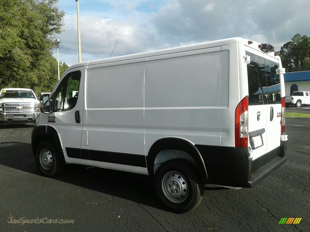 2019 ProMaster 1500 Low Roof Cargo Van - Bright White / Black photo #3