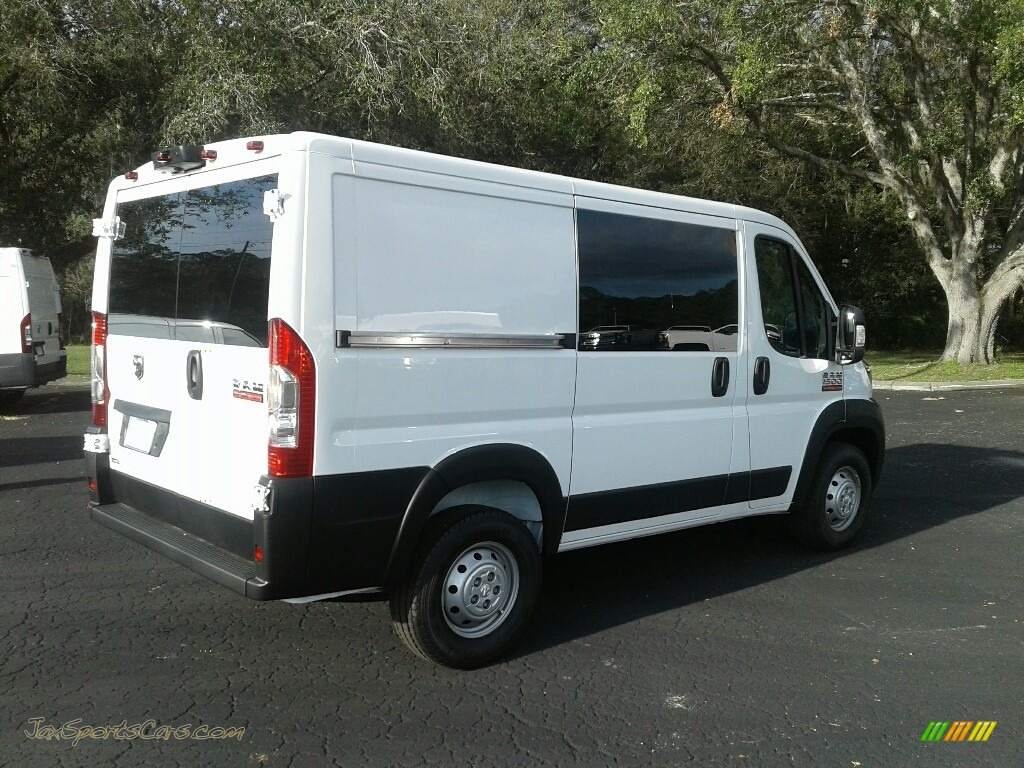 2019 ProMaster 1500 Low Roof Cargo Van - Bright White / Black photo #5