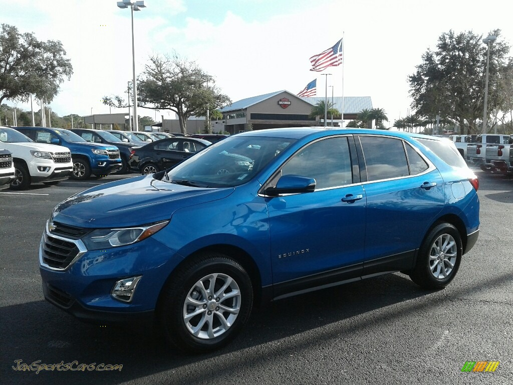 2019 Equinox LT - Kinetic Blue Metallic / Medium Ash Gray photo #1