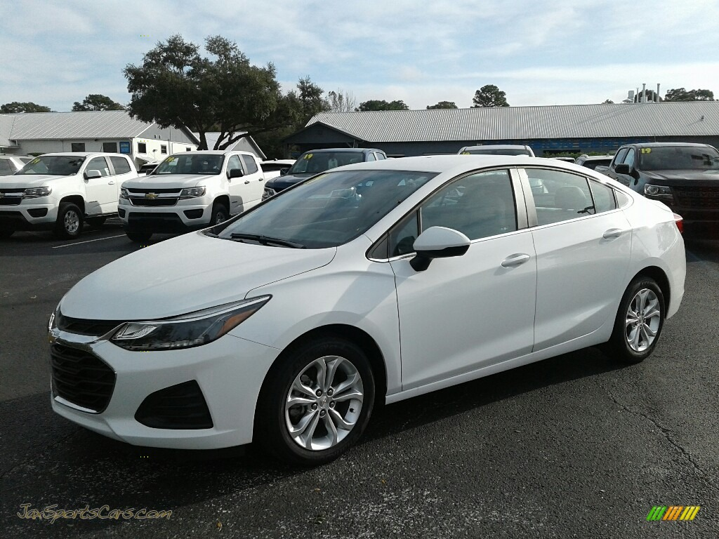 Summit White / Jet Black/­Galvanized Chevrolet Cruze LT