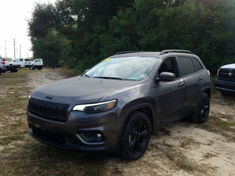 Granite Crystal Metallic 2019 Jeep Cherokee Latitude Plus