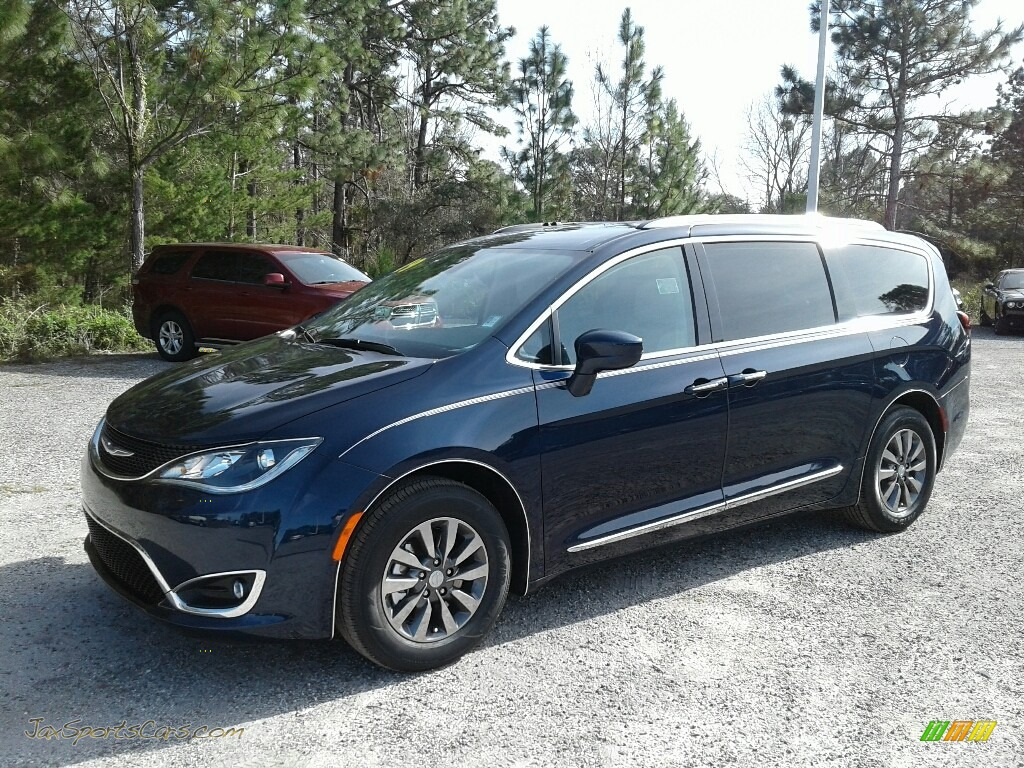 2019 Pacifica Touring L Plus - Jazz Blue Pearl / Black/Alloy photo #1