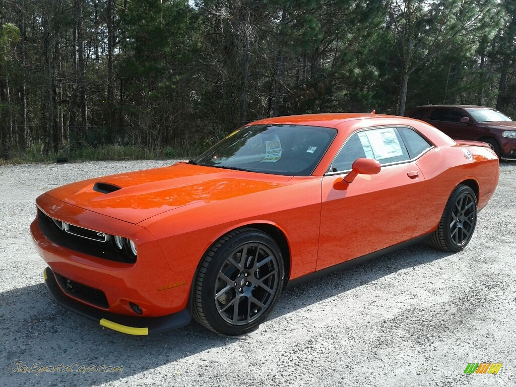 2019 Challenger GT - Go Mango / Black photo #1