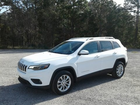 Bright White 2019 Jeep Cherokee Latitude