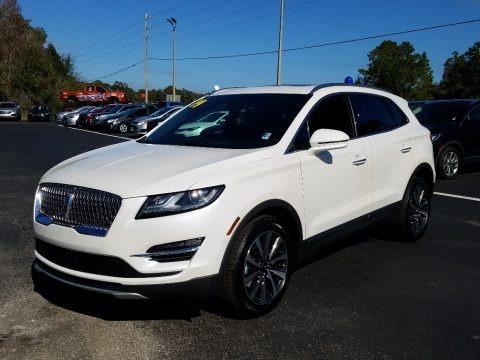 White Platinum 2019 Lincoln MKC Reserve