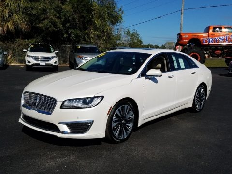 White Platinum 2019 Lincoln MKZ Hybrid Reserve II