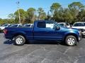 Ford F150 XLT SuperCab Blue Jeans photo #6