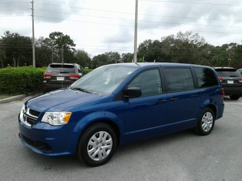 Indigo Blue 2019 Dodge Grand Caravan SE