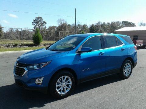 Kinetic Blue Metallic 2019 Chevrolet Equinox LT