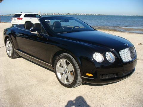 Diamond Black 2007 Bentley Continental GTC