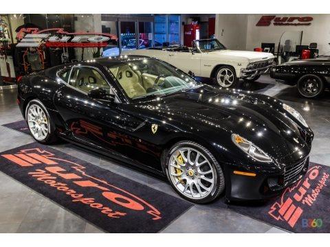 Nero (Black) 2009 Ferrari 599 GTB Fiorano