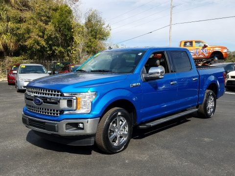 Velocity Blue 2019 Ford F150 XLT SuperCrew