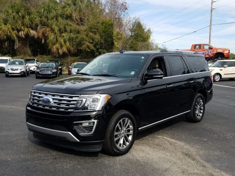 Shadow Black 2018 Ford Expedition Limited Max