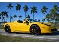 Ferrari 458 Spider Giallo Modena (Yellow) photo #3